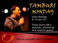 """TAMBURI MONDAY """"Talks & Grooves"""""""
